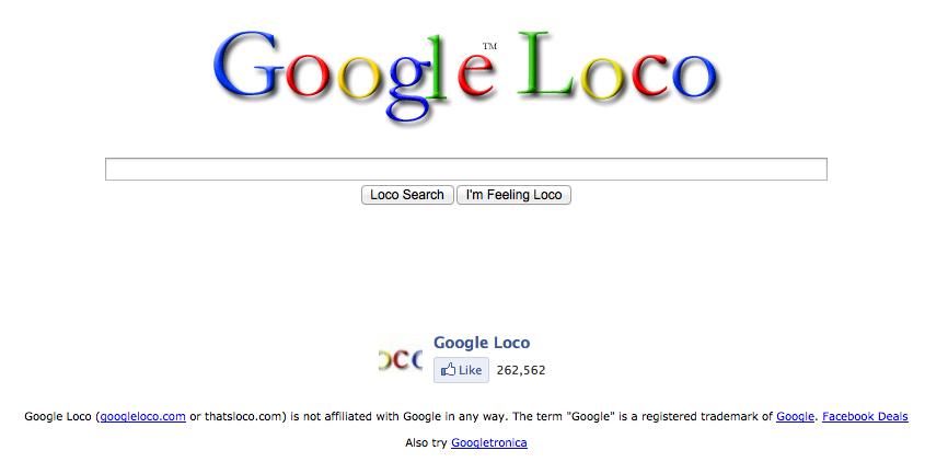 google-loco